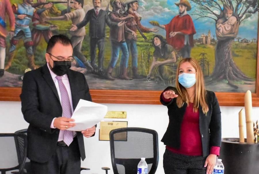 Asume Yoloxochitl Díaz la Secretaría General en el Ayuntamiento de Soledad