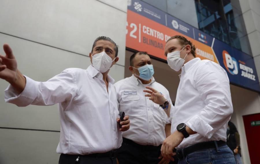 Giovani Gutiérrez y Santiago Taboada acuerdan coordinación para mejorar seguridad en Coyoacán