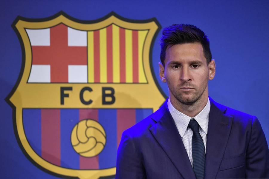 Entre lágrimas, Messi se despide del Barcelona