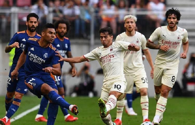Real Madrid y AC Milan empatan sin goles en amistoso de pretemporada