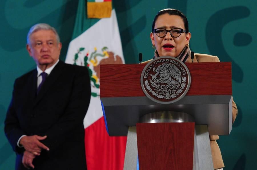 Se combatirá la delincuencia, no con guerra, sino con programas y acciones sociales: Rosa Icela Rodríguez