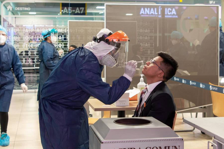 Demandan pruebas PCR a turistas nacionales o extranjeros que ingresen al país