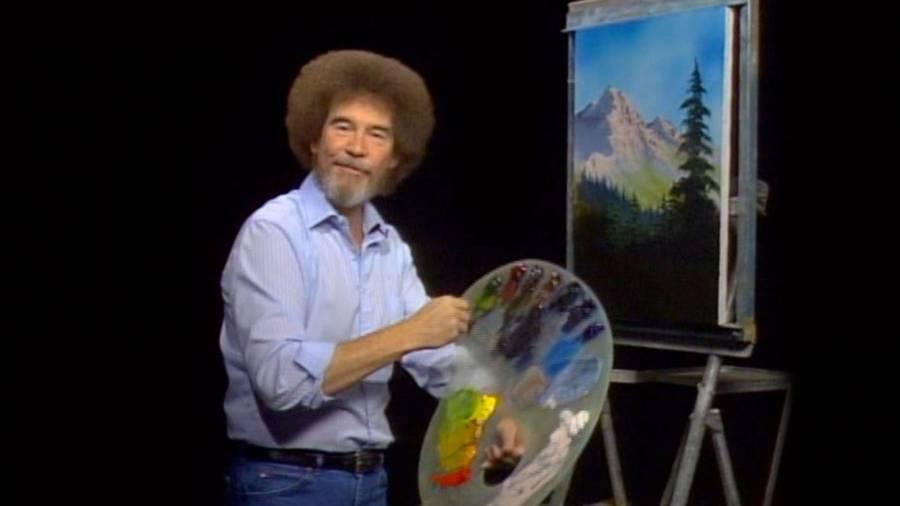 El tio Netflix estrenará documental sobre Bob Ross, el pintor de los árboles felices