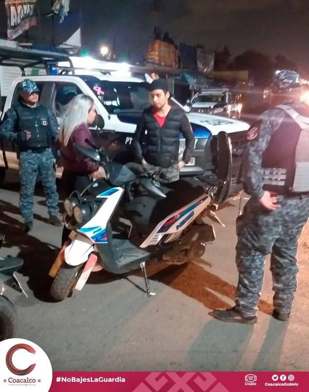 """Coacalco: Continúa el operativo de seguridad """"Rastrillo"""""""