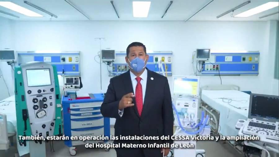 Guanajuato fortalece el Sistema de Salud