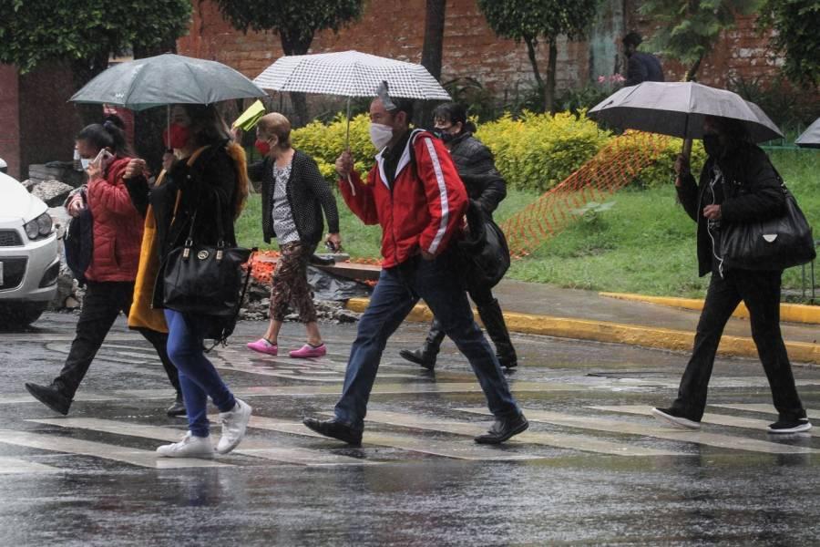CDMX activa la alerta amarilla por lluvias en 8 alcaldías