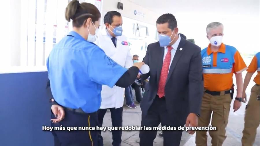 Diego Sinhue pide a guanajuatenses redoblar medidas de prevención contra Covid-19