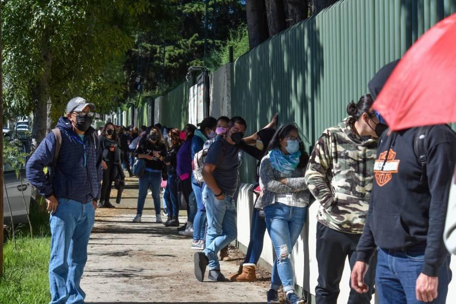 Se registran 6 mil 513 nuevos contagios de Covid en el país