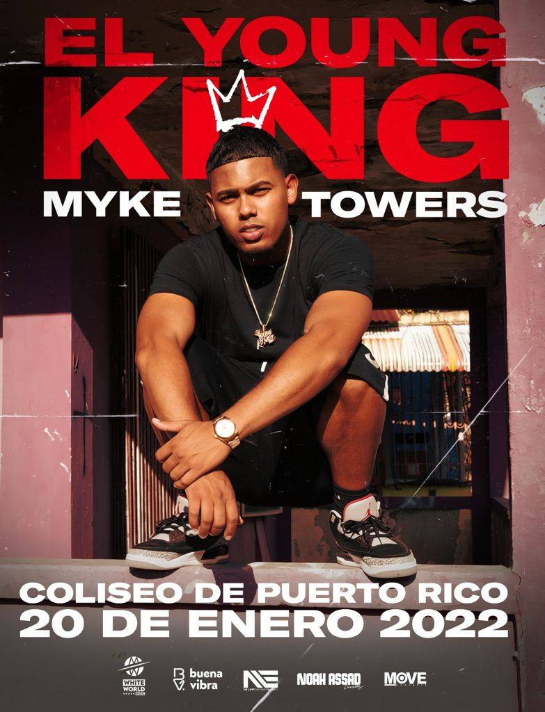 Myke Towers regresa a Puerto Rico con show en vivo