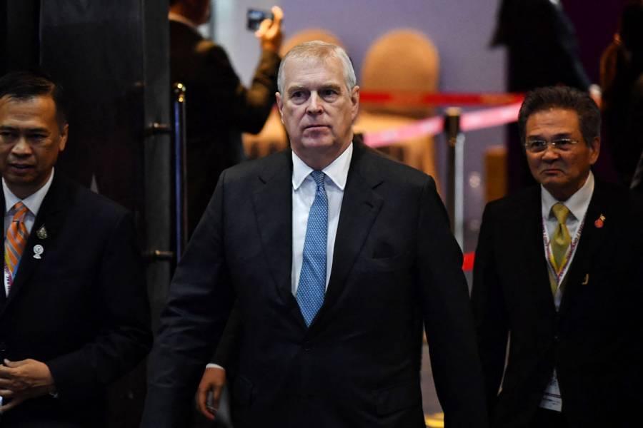 Demandan al príncipe Andrés por abusos sexuales en el caso Epstein