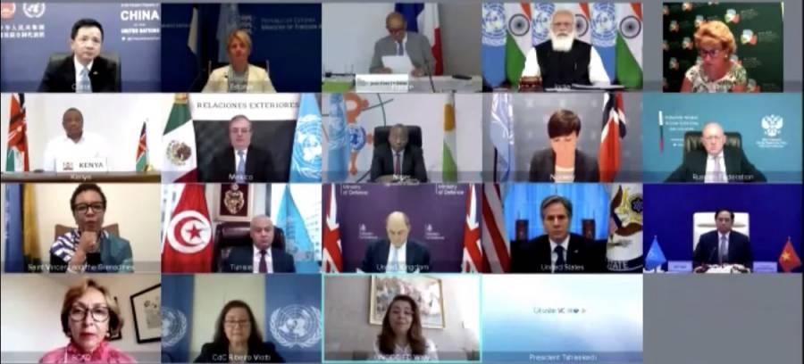 México participa en Consejo de Seguridad
