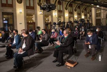 Libertad de expresión, condición necesaria para la democracia: Acuña Llamas