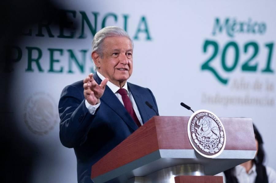 """""""No ser tapaderas"""", pide AMLO a gobernadores entrantes"""