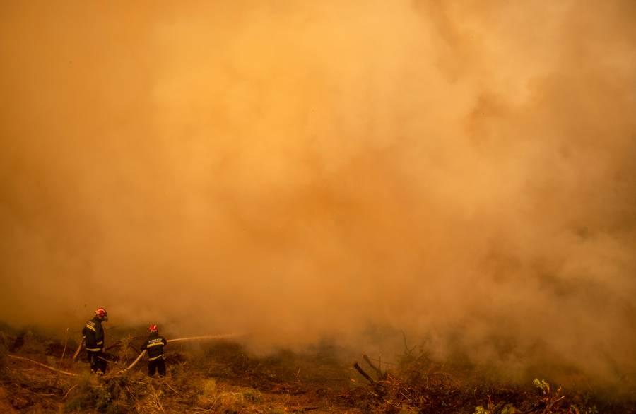 Ola de calor dispara el riesgo de incendios en España y Portugal