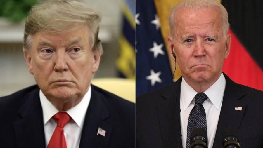 Donald Trump culpa a Joe Biden del auge de los talibanes en Afganistán