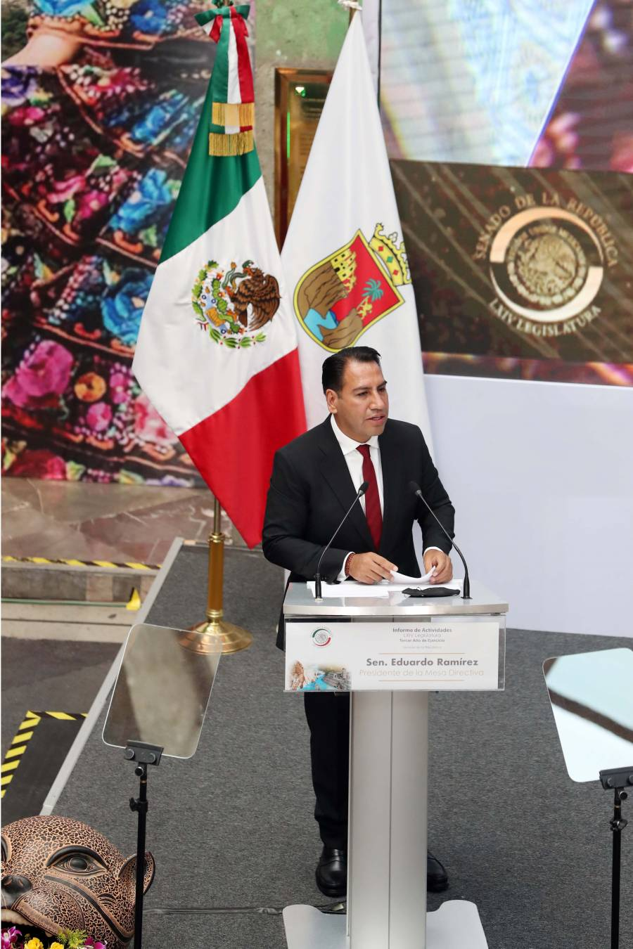 Presidente del Senado llama a la reconciliación nacional y dejar atrás la polarización