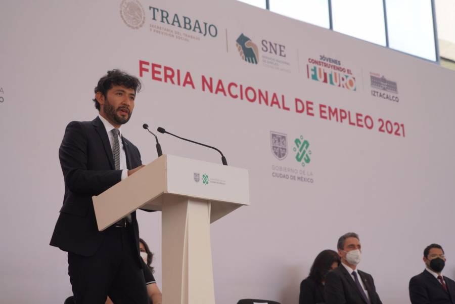 Marath Bolaños da a conocer el nuevo portal del empleo de la STPS