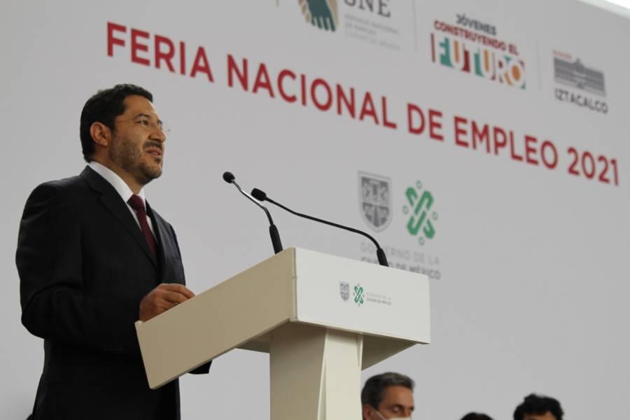 Martí Batres coincide con el planteamiento de empresas frente a la nueva ola de Covid-19