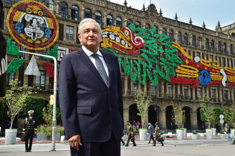 """López Obrador, conmemora los  """"500 Años de Resistencia Indígena. 1521, México-Tenochtitlan"""""""