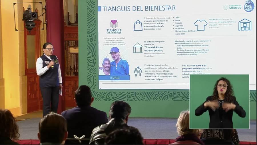 AMLO presenta el programa 'Tianguis del Bienestar'