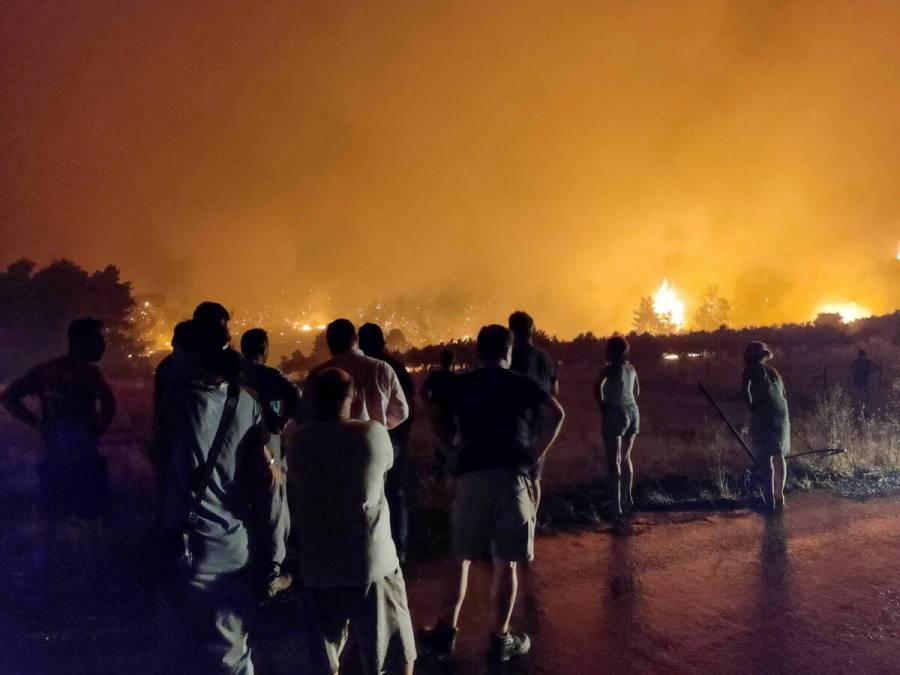 A pesar de que Grecia controla los incendios, Europa sigue en alerta