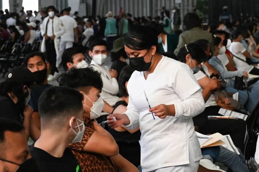 CDMX: Vacunados contra Covid-19 el 86% de los adultos