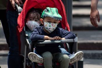 Reportan en CDMX, 17 niños hospitalizados por COVID-19