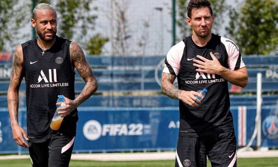 Ante el duelo contra Estrasburgo, PSG no convocó a Messi ni a Neymar