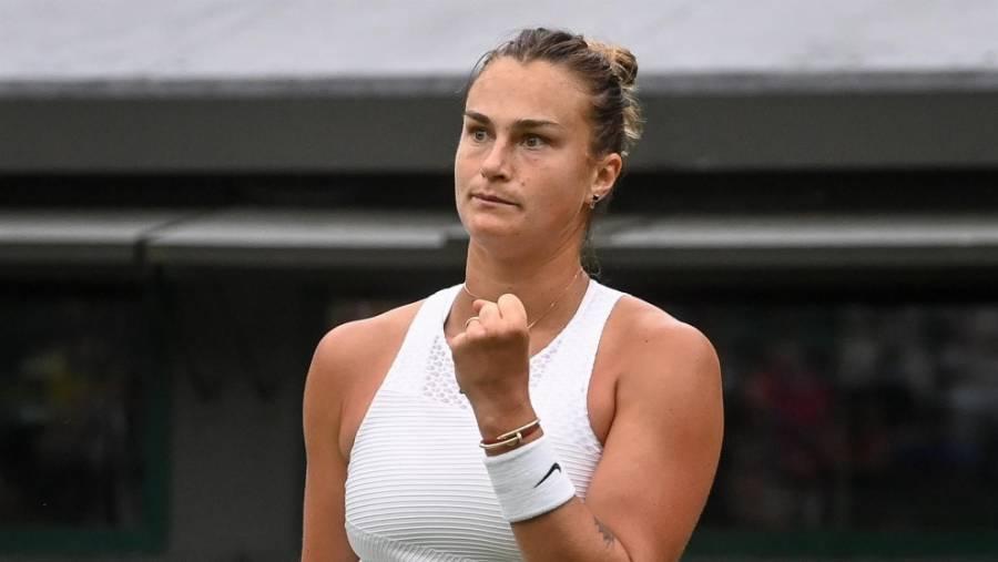 Aryna Sabalenka avanza a semifinales de Montreal