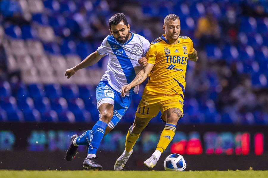Tigres saca el empate ante Puebla en la Liga MX