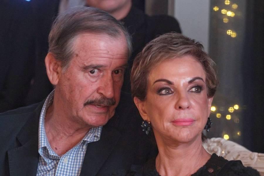 Dan de alta a Vicente Fox y Marta Sahagún tras contraer Covid-19
