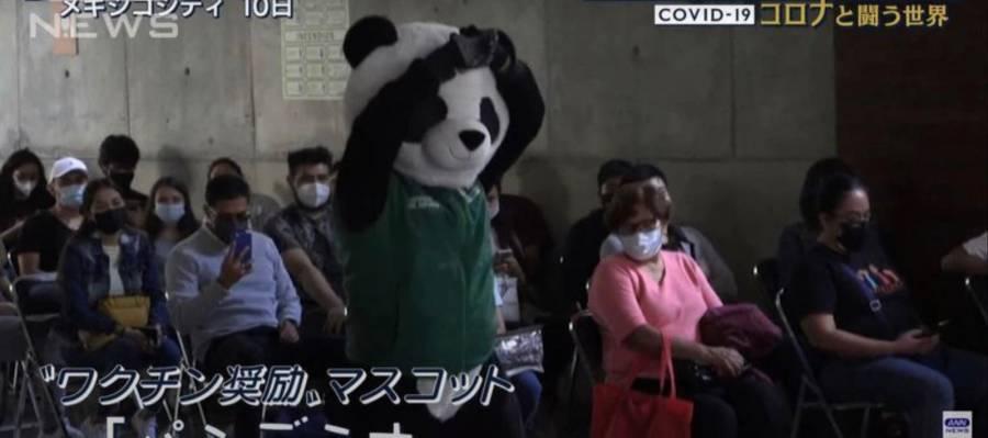 ¡De la CDMX para el mundo! Pandemio, la botarga de la vacunación conquista Japón