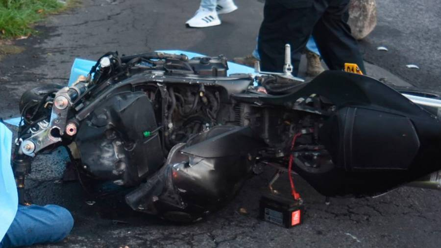 Se registró un accidente en la México-Cuernavaca