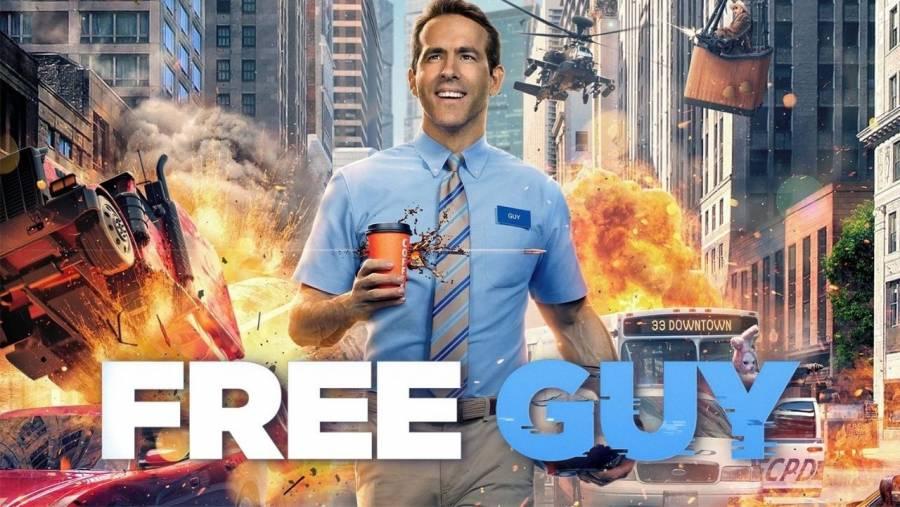 Free Guy ocupa el primer puesto de la taquilla de EEUU y Canadá