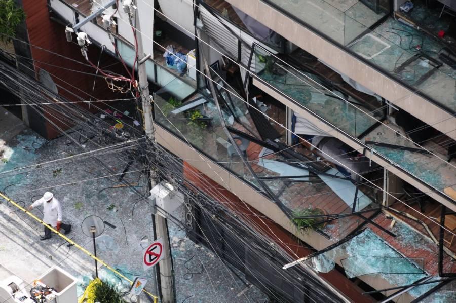 Inicia la Fiscalía capitalina una investigación por explosión en avenida Coyoacán