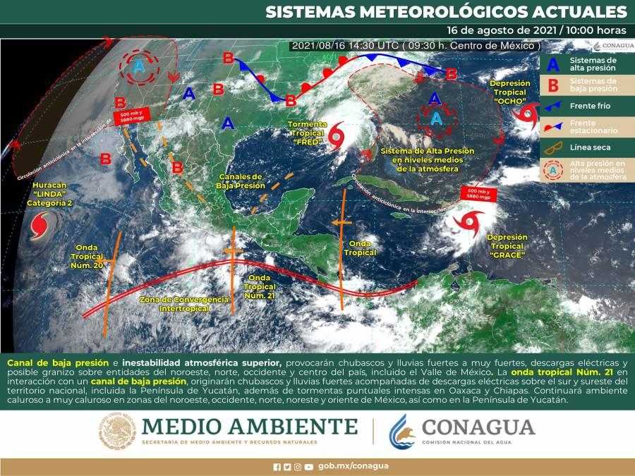 Tras terremoto, una depresión tropical amenaza con golpear a Haití