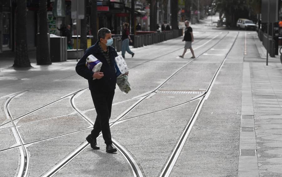 Melbourne, segunda ciudad australiana en decretar toque de queda por Covid-19