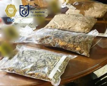 Caen 5 presuntos miembros de banda narcomenudista