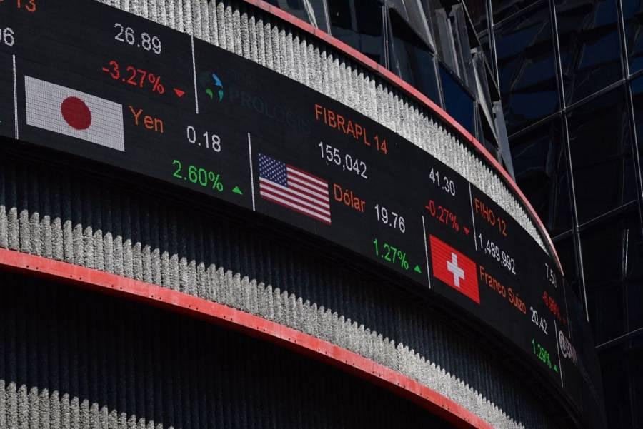 BMV pierde en línea con Wall Street tras débiles cifras económicas de EEUU