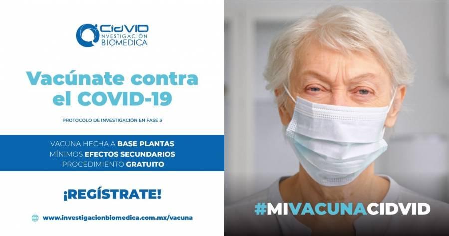 Buscan voluntarios para vacuna anticovid a base de plantas hecha en México