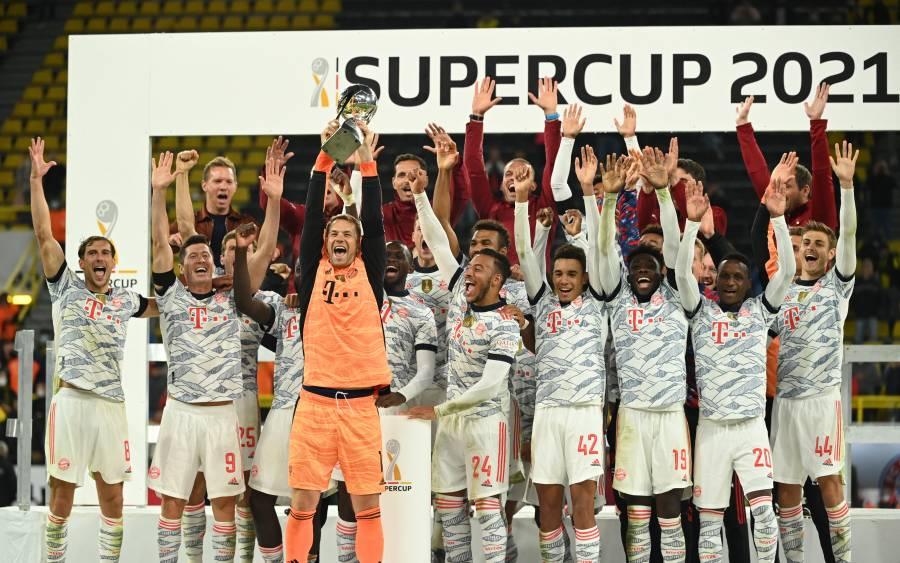 Bayern conquista la Supercopa de Alemania a costa del Borussia Dortmund