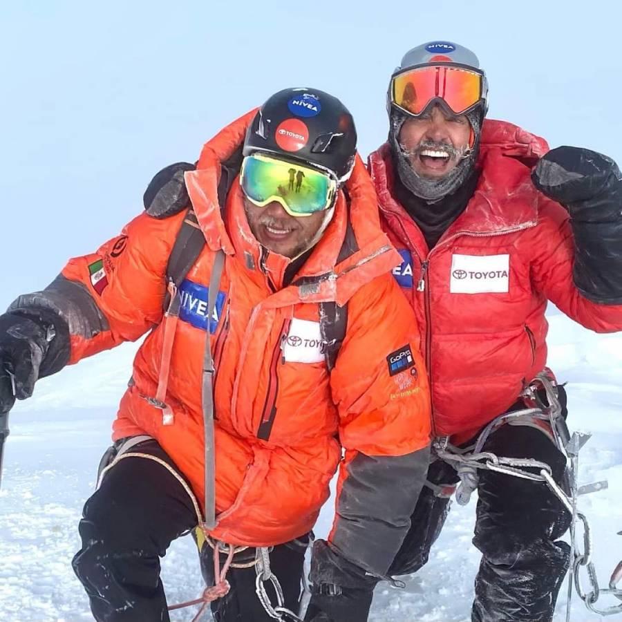 Omar Álvarez y Rafael Jaime, los alpinistas que han conquistado dos de las cumbres más altas del mundo; van por el Everest