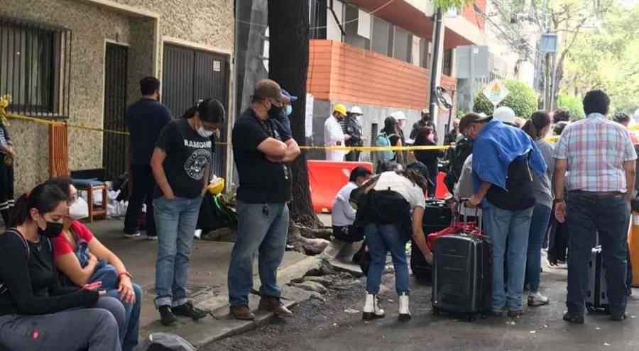 Inquilinos del edificio en Coyoacán denuncian saqueos tras la explosión