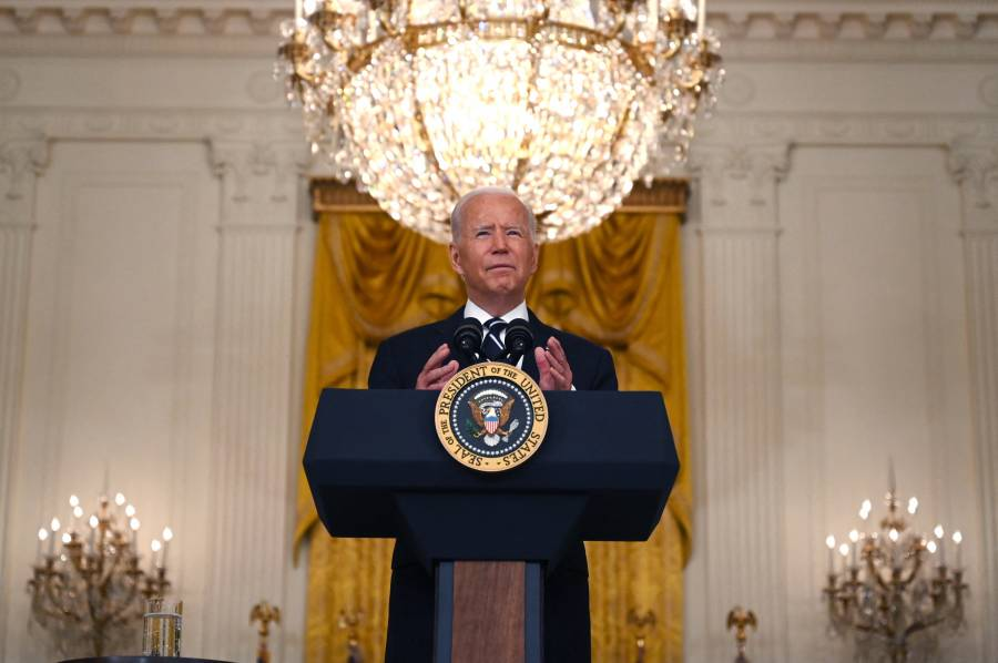 Biden: Soldados de EEUU estarán en Afganistán hasta evacuar al último estadounidense