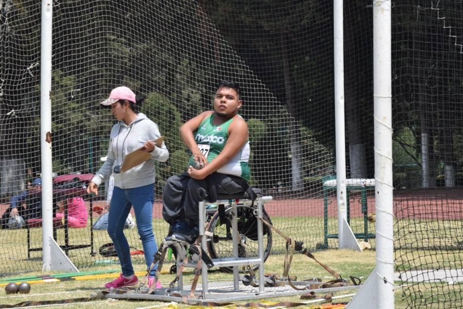 Erick Ortiz, lanzador de bala, llega a sus segundos juegos paralímpicos