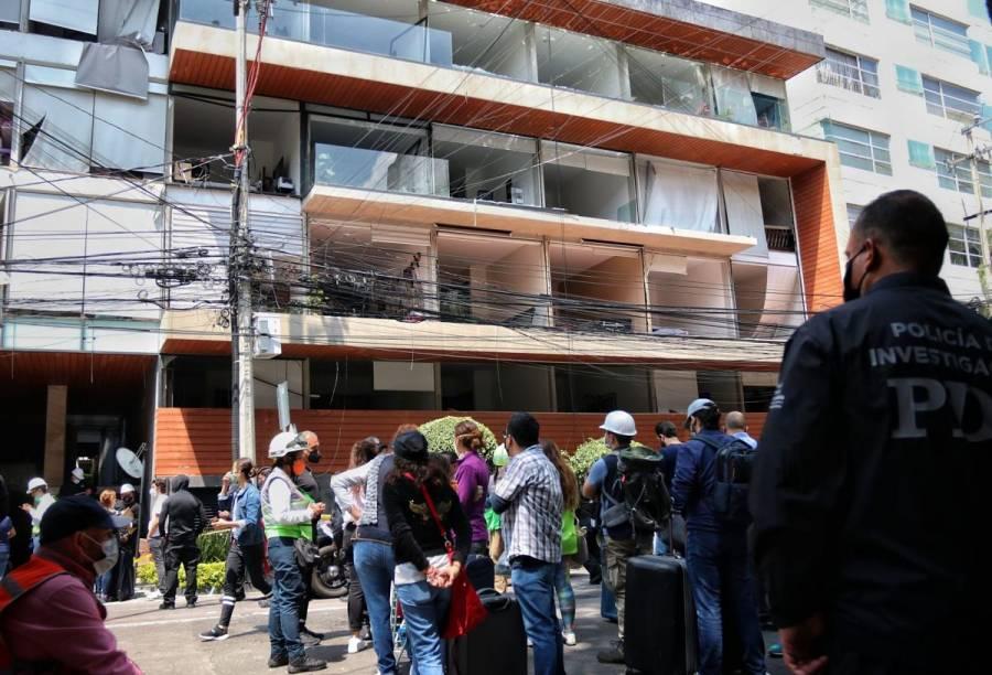 Aseguradora cubrirá daños por explosión en Avenida Coyoacán: Claudia Sheinbaum