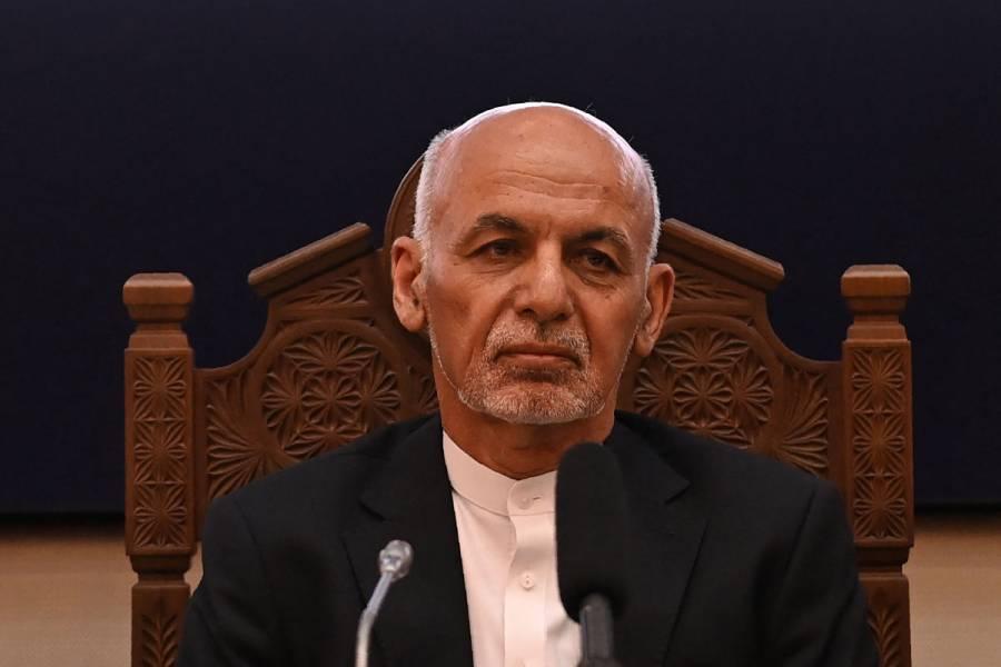 El expresidente afgano, Ashraf Ghani, se refugia en los Emiratos Árabes