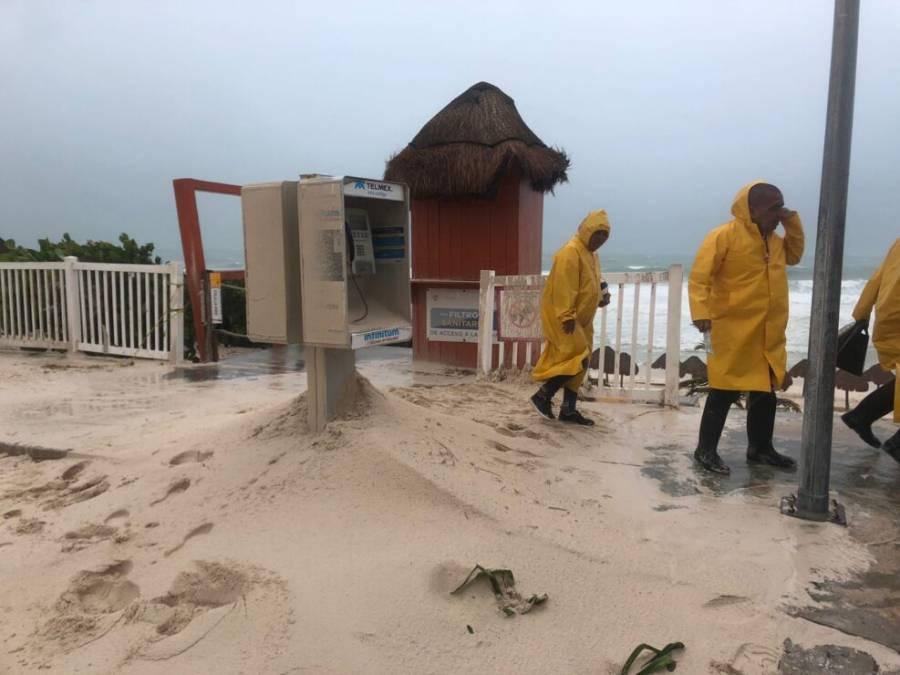Grace se degrada a tormenta tropical tras su paso por Quintana Roo