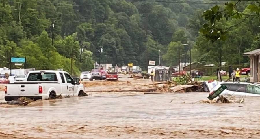 El saldo tras las inundaciones en Carolina del Norte es de 2 muertos y 20 desaparecidos