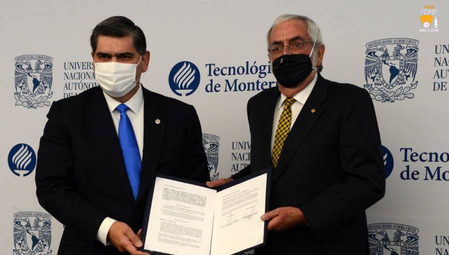 CEMEX, UNAM y Tec de Monterrey se unen para impulsar investigación y desarrollo